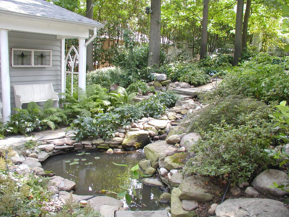 Sanctuary garden greener gardens for Outdoor landscaping